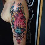 фото Абстрактные тату от 16.01.2018 №148 - Abstract tattoos - tattoo-photo.ru