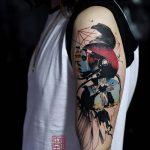 фото Абстрактные тату от 16.01.2018 №160 - Abstract tattoos - tattoo-photo.ru
