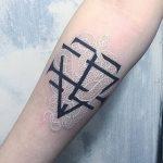 фото Белые тату от 19.02.2018 №062 - White Tattoo - tattoo-photo.ru