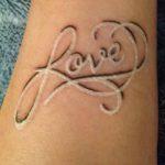 фото Белые тату от 19.02.2018 №099 - White Tattoo - tattoo-photo.ru