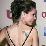 фото Тату Алиссы Милано от 10.03.2018 №009 - Tattoo by Alyssa Milano - tattoo-photo.ru