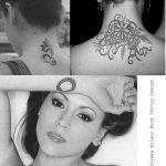 фото Тату Алиссы Милано от 10.03.2018 №021 - Tattoo by Alyssa Milano - tattoo-photo.ru