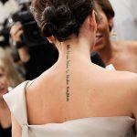 фото Тату Виктории Бекхем от 22.01.2018 №007 - Victoria Beckham Tattoo - tattoo-photo.ru