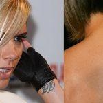 фото Тату Виктории Бекхем от 22.01.2018 №012 - Victoria Beckham Tattoo - tattoo-photo.ru