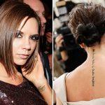 фото Тату Виктории Бекхем от 22.01.2018 №020 - Victoria Beckham Tattoo - tattoo-photo.ru
