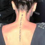 фото Тату Виктории Бекхем от 22.01.2018 №021 - Victoria Beckham Tattoo - tattoo-photo.ru