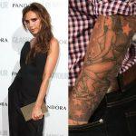 фото Тату Виктории Бекхем от 22.01.2018 №026 - Victoria Beckham Tattoo - tattoo-photo.ru