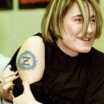фото Тату Земфиры от 20.02.2018 №016 - Tattoos of Zemfira - tattoo-photo.ru