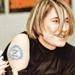фото Тату Земфиры от 20.02.2018 №027 - Tattoos of Zemfira - tattoo-photo.ru