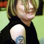 фото Тату Земфиры от 20.02.2018 №037 - Tattoos of Zemfira - tattoo-photo.ru