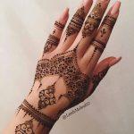 фото мехенди на руке от 10.03.2018 №003 - mehendi on hand - tattoo-photo.ru