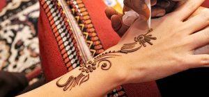фото мехенди на руке от 10.03.2018 №015 - mehendi on hand - tattoo-photo.ru