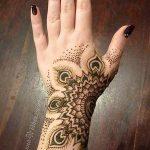 фото мехенди на руке от 10.03.2018 №016 - mehendi on hand - tattoo-photo.ru