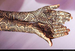 фото мехенди на руке от 10.03.2018 №018 - mehendi on hand - tattoo-photo.ru