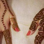 фото мехенди на руке от 10.03.2018 №030 - mehendi on hand - tattoo-photo.ru