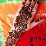 фото мехенди на руке от 10.03.2018 №031 - mehendi on hand - tattoo-photo.ru