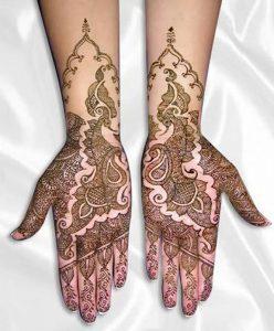 фото мехенди на руке от 10.03.2018 №035 - mehendi on hand - tattoo-photo.ru