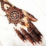 фото мехенди на руке от 10.03.2018 №045 - mehendi on hand - tattoo-photo.ru