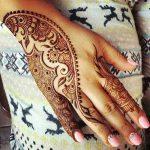 фото мехенди на руке от 10.03.2018 №046 - mehendi on hand - tattoo-photo.ru