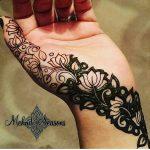 фото мехенди на руке от 10.03.2018 №047 - mehendi on hand - tattoo-photo.ru