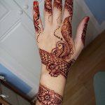 фото мехенди на руке от 10.03.2018 №064 - mehendi on hand - tattoo-photo.ru