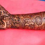 фото мехенди на руке от 10.03.2018 №069 - mehendi on hand - tattoo-photo.ru