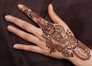 фото мехенди на руке от 10.03.2018 №072 - mehendi on hand - tattoo-photo.ru