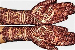 фото мехенди на руке от 10.03.2018 №090 - mehendi on hand - tattoo-photo.ru