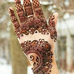 фото мехенди на руке от 10.03.2018 №113 - mehendi on hand - tattoo-photo.ru