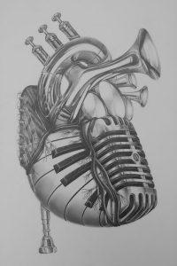 фото музыкальные тату от 08.03.2018 №003 - Musical Tattoos - tattoo-photo.ru