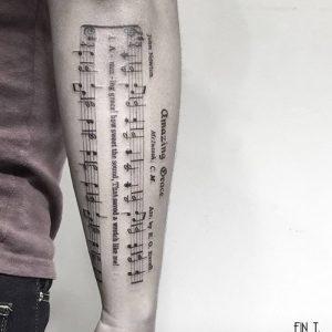 фото музыкальные тату от 08.03.2018 №015 - Musical Tattoos - tattoo-photo.ru