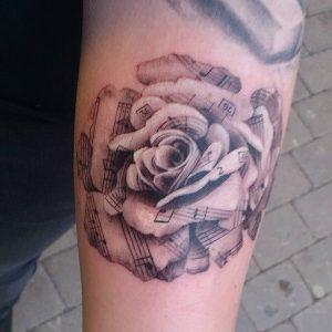 фото музыкальные тату от 08.03.2018 №022 - Musical Tattoos - tattoo-photo.ru