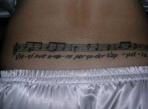 фото музыкальные тату от 08.03.2018 №066 - Musical Tattoos - tattoo-photo.ru