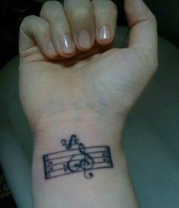 фото музыкальные тату от 08.03.2018 №120 - Musical Tattoos - tattoo-photo.ru