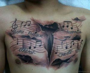 фото музыкальные тату от 08.03.2018 №141 - Musical Tattoos - tattoo-photo.ru