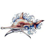 фото тату Акула молот от 23.01.2018 №005 — Tattoo Shark Hammer — tattoo-photo.ru