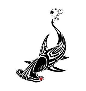 фото тату Акула молот от 23.01.2018 №012 - Tattoo Shark Hammer - tattoo-photo.ru