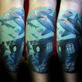 фото тату Акула молот от 23.01.2018 №052 - Tattoo Shark Hammer - tattoo-photo.ru