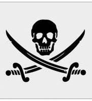 фото тату Веселый Роджер от 03.01.2018 №003 — tattoo Jolly Roger — tattoo-photo.ru