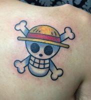 фото тату Веселый Роджер от 03.01.2018 №007 — tattoo Jolly Roger — tattoo-photo.ru
