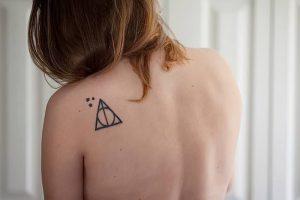 фото тату Дары Смерти от 20.02.2018 №141 - Deathly Tattoo - tattoo-photo.ru