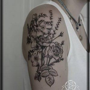фото тату Дотворк от 27.02.2018 №008 - Dotvork tattoo - tattoo-photo.ru