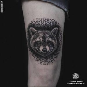 фото тату Дотворк от 27.02.2018 №019 - Dotvork tattoo - tattoo-photo.ru