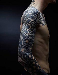 фото тату Дотворк от 27.02.2018 №033 - Dotvork tattoo - tattoo-photo.ru