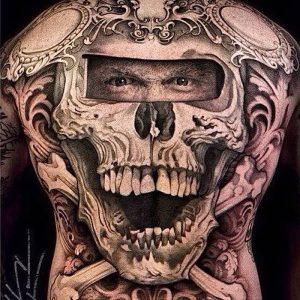 фото тату Дотворк от 27.02.2018 №039 - Dotvork tattoo - tattoo-photo.ru
