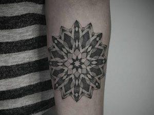 фото тату Дотворк от 27.02.2018 №057 - Dotvork tattoo - tattoo-photo.ru