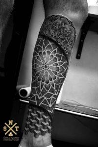 фото тату Дотворк от 27.02.2018 №098 - Dotvork tattoo - tattoo-photo.ru