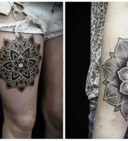фото тату Дотворк от 27.02.2018 №111 — Dotvork tattoo — tattoo-photo.ru