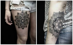 фото тату Дотворк от 27.02.2018 №111 - Dotvork tattoo - tattoo-photo.ru