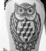 фото тату Дотворк от 27.02.2018 №119 — Dotvork tattoo — tattoo-photo.ru